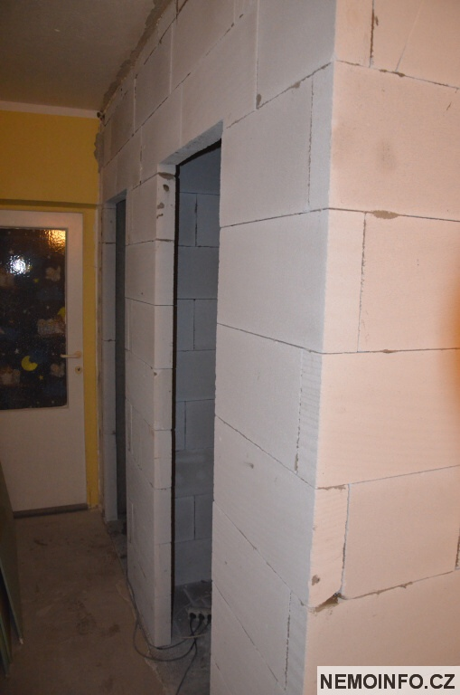 bytové jádro - koupelna a ytong 14