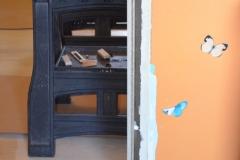 Nové dveře v paneláku 6