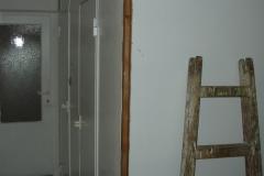 rekonstrukce koupelny obložení sádrokartonem stav 2006 - 1
