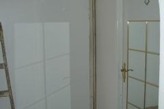 rekonstrukce koupelny obložení sádrokartonem stav 2006 - 2