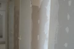 rekonstrukce koupelny obložení sádrokartonem stav 2006 - 7