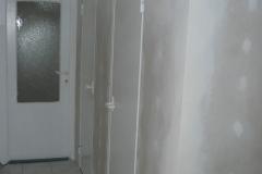 rekonstrukce koupelny obložení sádrokartonem stav 2006 - 8