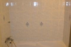 paneláková koupelna obložená sádrokartonem stav 2016 - 06