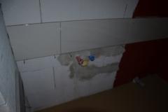 Obklady v koupelně u umyvadla
