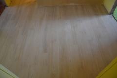 Vinylová podlaha položena
