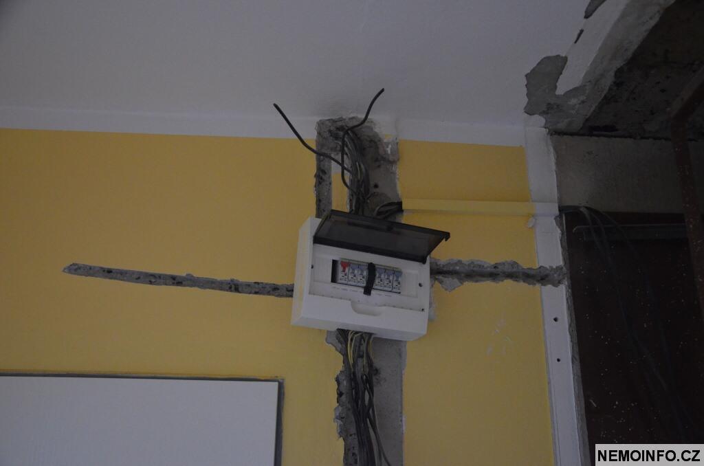 Rekonstrukce bytu a nové rozvody elektriky 2