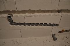 Rekonstrukce koupelny - rozvody vody 2