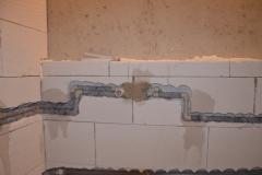 Rekonstrukce koupelny - rozvody vody 6