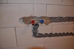 Rekonstrukce koupelny - rozvody vody 8