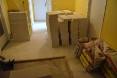 Stavební materiál pro rekonstrukci koupelny 09