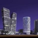 V Praze 4 postaví nejvyšší obytný mrakodrap v Česku