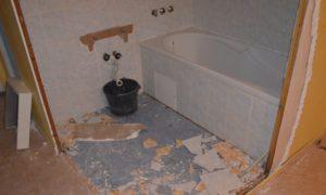 Přestavba bytového jádra se bez bourání neobejde