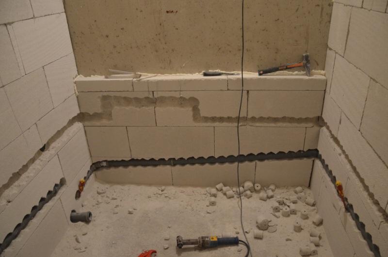 rekonstrukce bytu rozvody vody