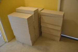 Přestavba koupelny – dovezli nám stavební materiál