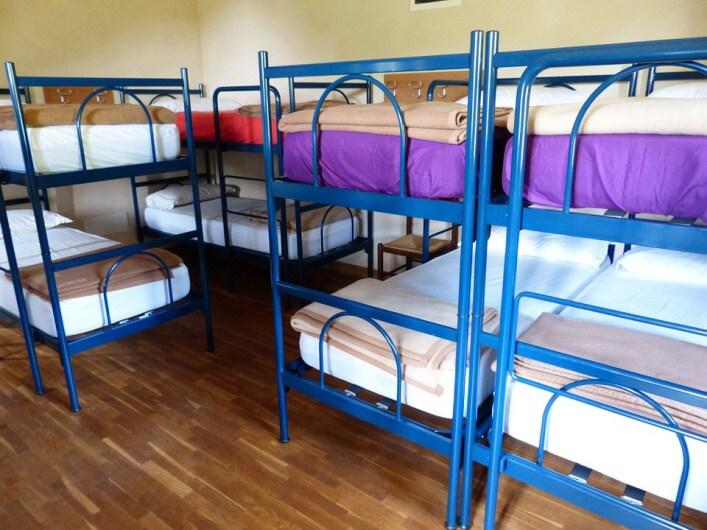 ubytovna postele