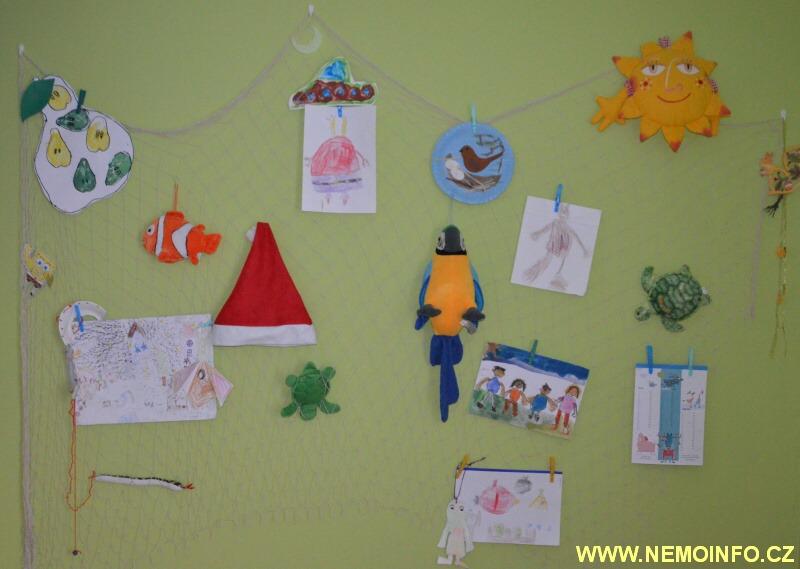 dekorační síť do dětského pokoje
