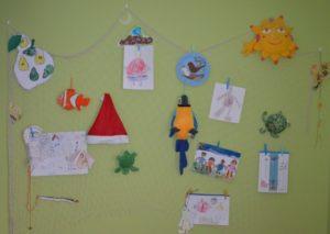 Dekorační síť na zeď do dětského pokoje