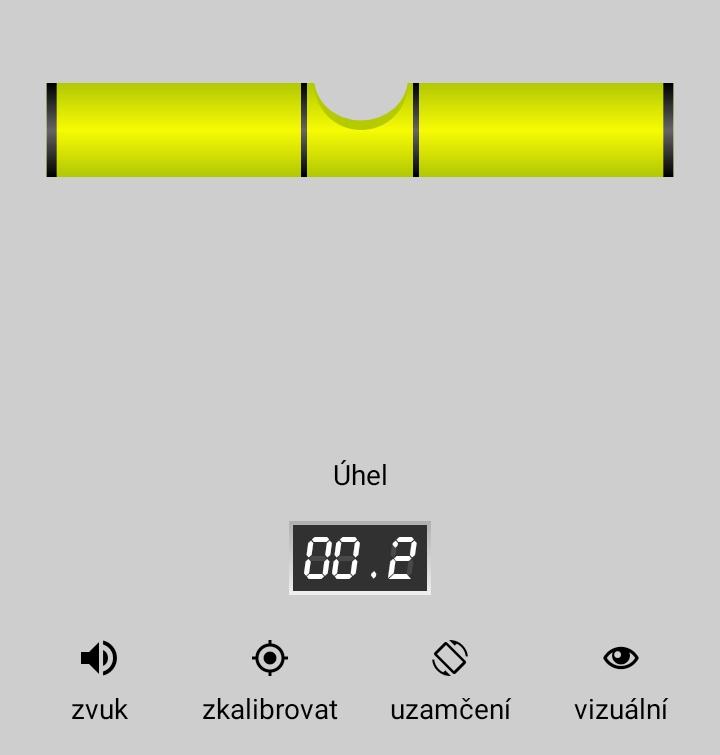 vodováha mobilní aplikace pro android 2