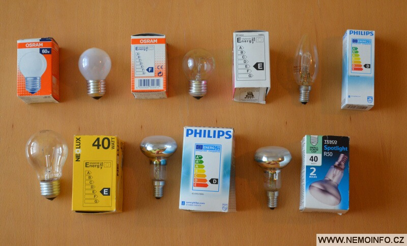 Halogenové žárovky