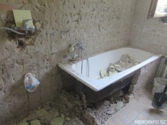 Rekonstrukce koupelny v domě