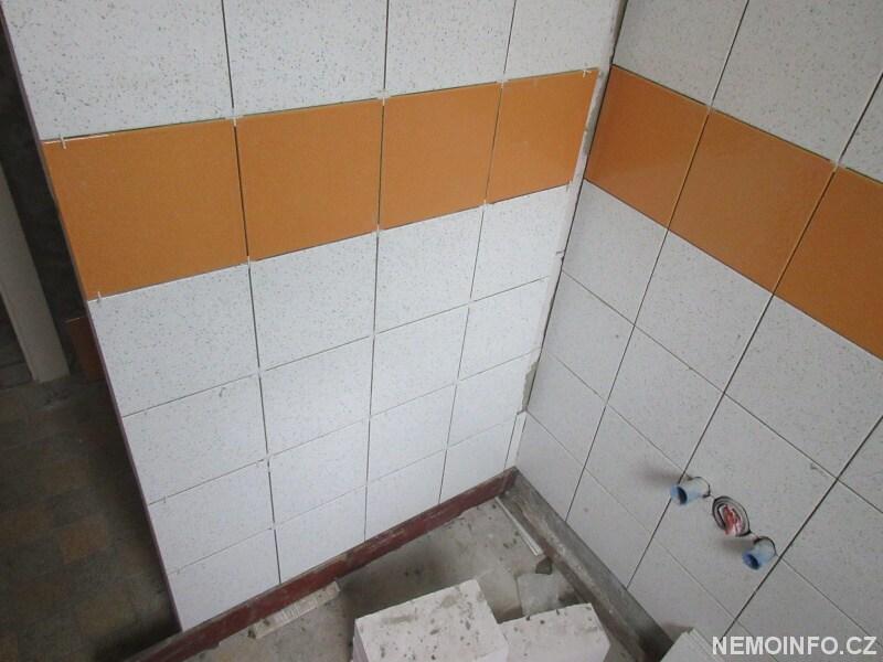 Obklady v koupelně - dolní část