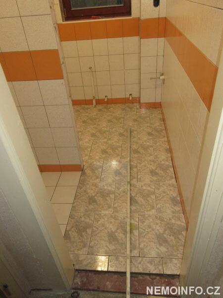 Rekontrukce koupelny je skoro hotova