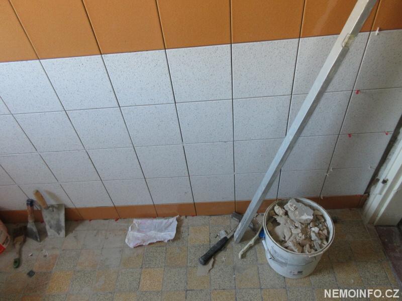 Úklid po rekonstrukci koupelny