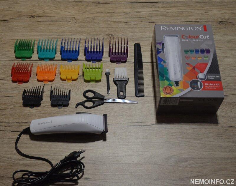 Zastřihovač vlasů Remington Color Cut HC5035